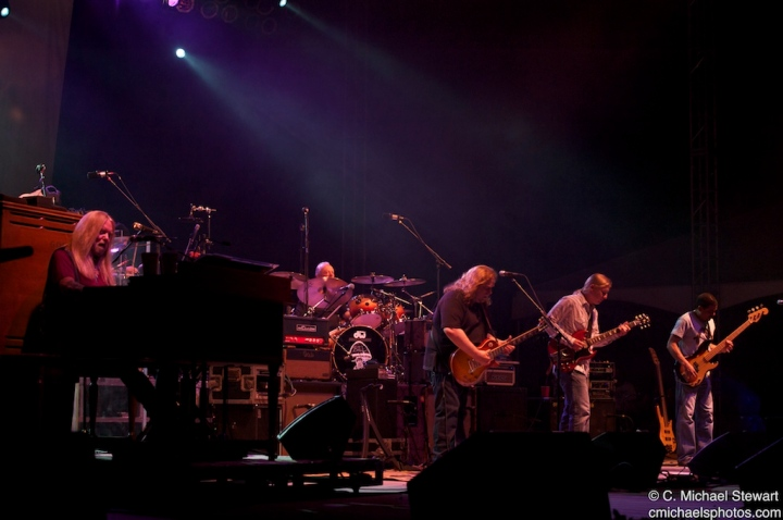 The Allman Brothers Band @ Wanee Music Festival 2010