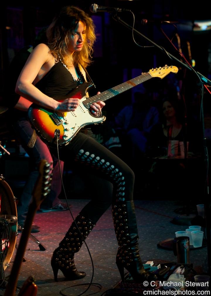 Ana Popovic plays Stevie Rays Blues Bar